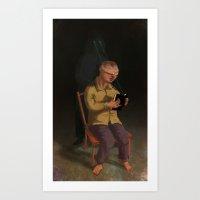 Horor Fiction Art Print