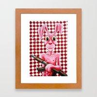 BamBamBunny Framed Art Print