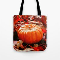 Samhain Pumpkin Tote Bag