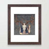 Long live the dead - Dear Framed Art Print