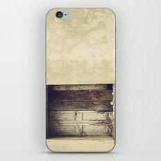 Wood window iPhone & iPod Skin