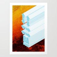 Respect the Code. Art Print