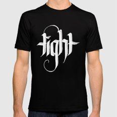 tight Mens Fitted Tee SMALL Black