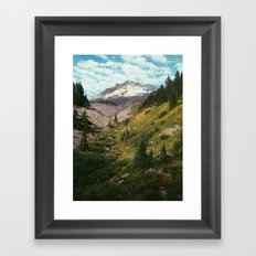Mt Hood Framed Art Print