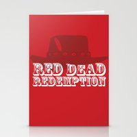 Red Dead Redemption Stationery Cards