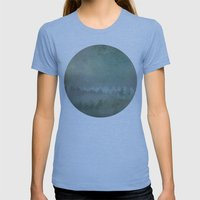 Planet 410110 Womens Fitted Tee Athletic Blue SMALL