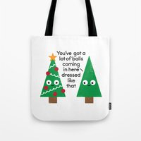 Spruced Up Tote Bag