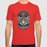 Just Smile Mens Fitted Tee Red SMALL