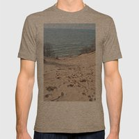 On to the Horizon Mens Fitted Tee Tri-Coffee SMALL