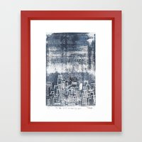 12:26 And Missing You Framed Art Print