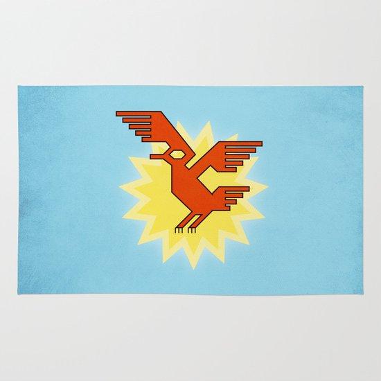 Geometric Andean Condor Bird Area & Throw Rug