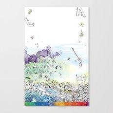 you're COLOR - Page 8 Canvas Print
