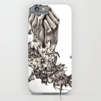 iPhone & iPod Case featuring Pray for Nature by KatePowellArt