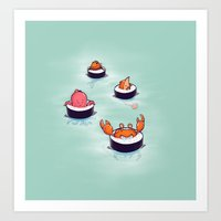 Tasty Playground Art Print