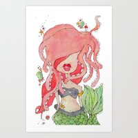 Suki -- Part Of The Merm… Art Print