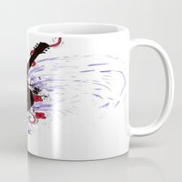 Bleeding Black Heart Gui… Mug