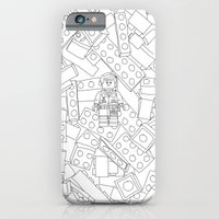 The Lego Movie — Colouring Book Version iPhone 6 Slim Case