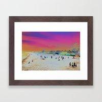 Old Orchard Beach, Maine… Framed Art Print