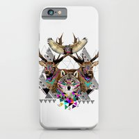 iPhone & iPod Case featuring ▲FOREST FRIENDS▲ by Kris Tate