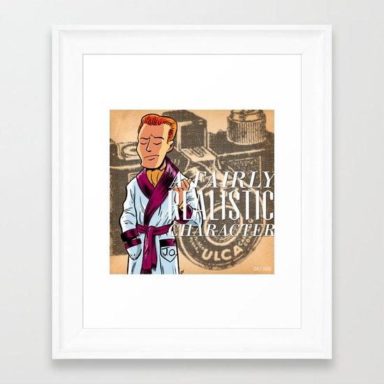 DC/365/006 Framed Art Print