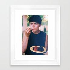 sœur aînée Framed Art Print