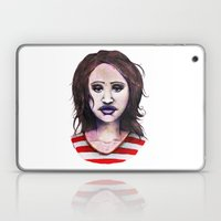 Graphite Girl Laptop & iPad Skin