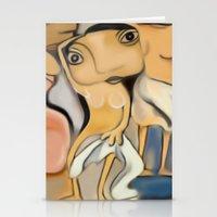 Les Demoiselles D'Avigno… Stationery Cards