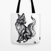Foxy Two Tote Bag