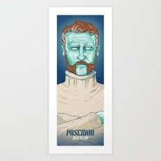 POSEIDON Art Print