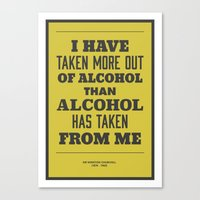 'I Have Taken More Out O… Canvas Print