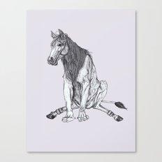 The Leucrota Canvas Print