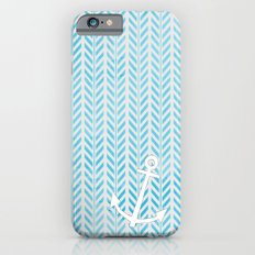 Anchor in Blue iPhone 6s Slim Case