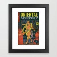 Hobo and Sailor. Oriental Mystery  Framed Art Print