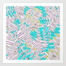 New Sacred 45 (2014) Art Print