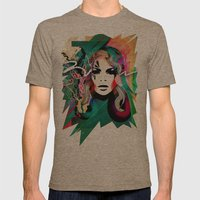 colorful hair Mens Fitted Tee Tri-Coffee SMALL