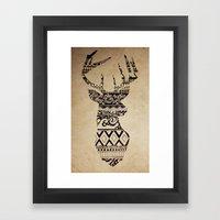 Oh Deer, Oh My Framed Art Print