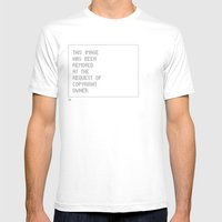 © Control V1.2 Mens Fitted Tee White SMALL