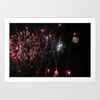 ~ Let the Sparks Fly~ Art Print