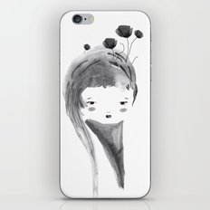Dark Poppies iPhone & iPod Skin