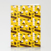 Chocolate Wasted (yellow… Stationery Cards