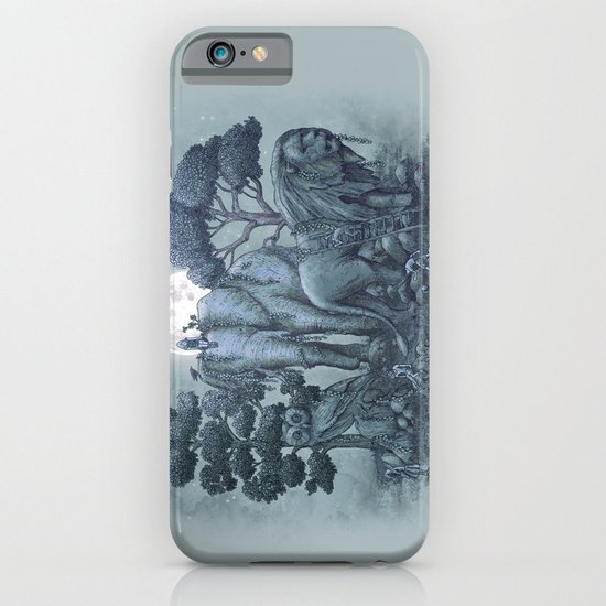 Midnight in the Stone Garden (colour option) iPhone & iPod Case