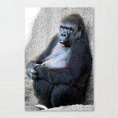 Gorilla Print Canvas Print