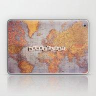 Laptop & iPad Skin featuring Wanderlust Map by Sylvia Cook Photogra…