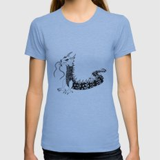 Dragon of the Dark Womens Fitted Tee Athletic Blue SMALL