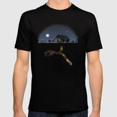 Minecraft: Always Digging Mens Fitted Tee Black SMALL