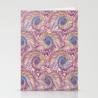 Peacock Swirl - Multi Stationery Cards