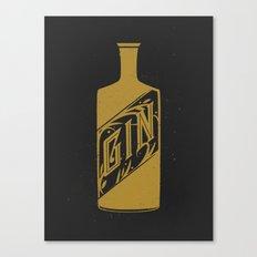 Gin - Dark Canvas Print