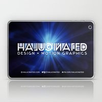 Halucinated Design + Mot… Laptop & iPad Skin