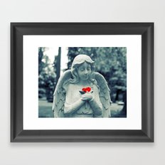 Forever loved Framed Art Print