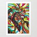 Tropical Cock (Feat. Bryan Gallardo) Art Print
